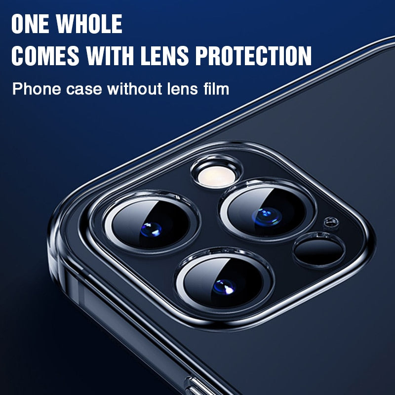 Lens Full Protection Phone Case For iPhone