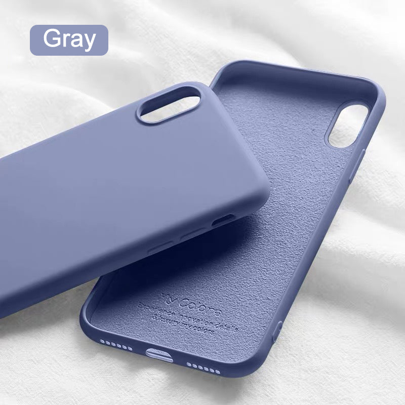 Liquid Silicone Ultra Thin Soft Case for iphone