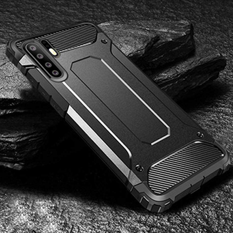 Luxury Armor Soft Bumper Case For Huawei
