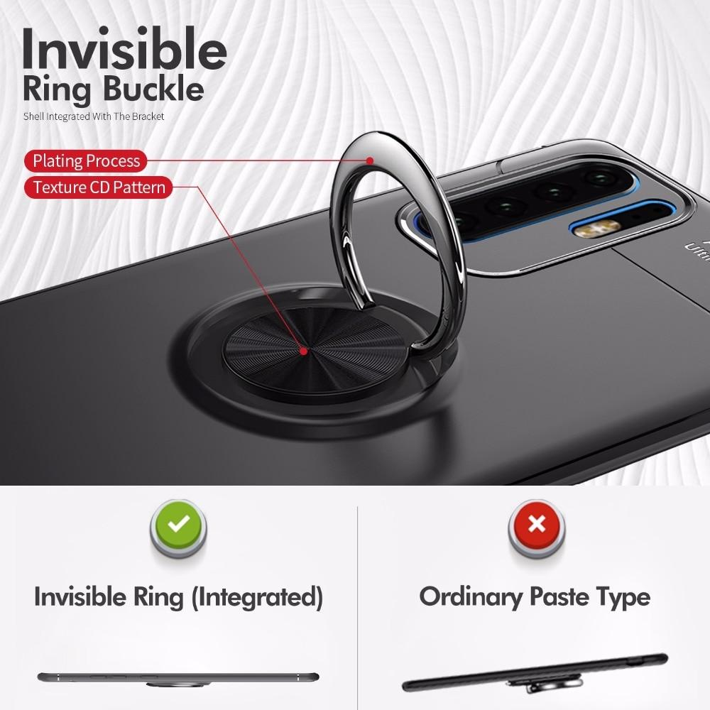 Luxury Magnetic Ring Full Case For Huawei P30 P20