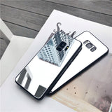 Luxury Full Mirror Soft TPU Plating Cover Case For iphone