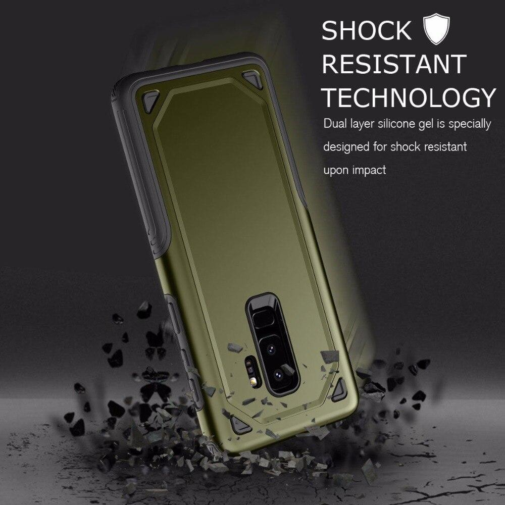 Luxury Military PC+TPU Case For Samsung