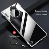 Luxury Plating Frameless Case For Huawei