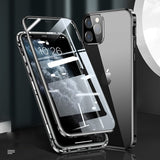 Luxury Square Metal Aluminum Bumper Case For iPhone