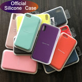 Luxury original Silicone Luxury Cases For  iPhone