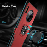 Luxury Finger Ring Car Magnetic Case For Huawei
