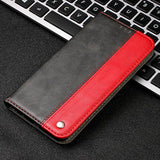 Mixed Colors Leather Flip Case For Huawei