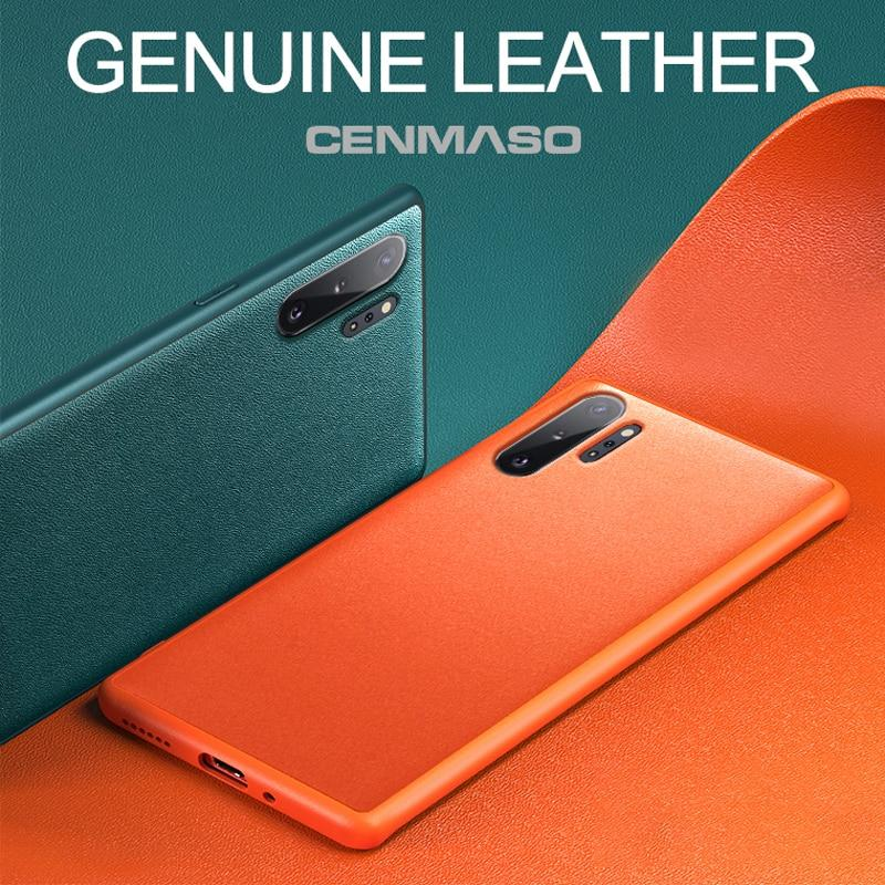 Original Genuine Leather Case for Samsung