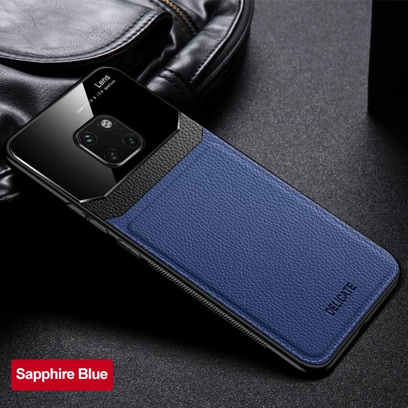 Luxury Mirror Lens Leather Case For for Huawei Mate 20/20 Pro