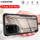 Shockproof Armor Transparent Phone Case For Samsung Galaxy S20