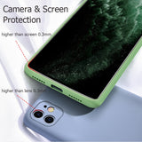 Liquid silicone luxury protective cover shockproof protective shell Suitable for iPhone