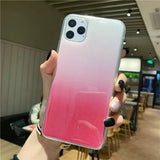 Glitter Powder Transparent Case For iPhone