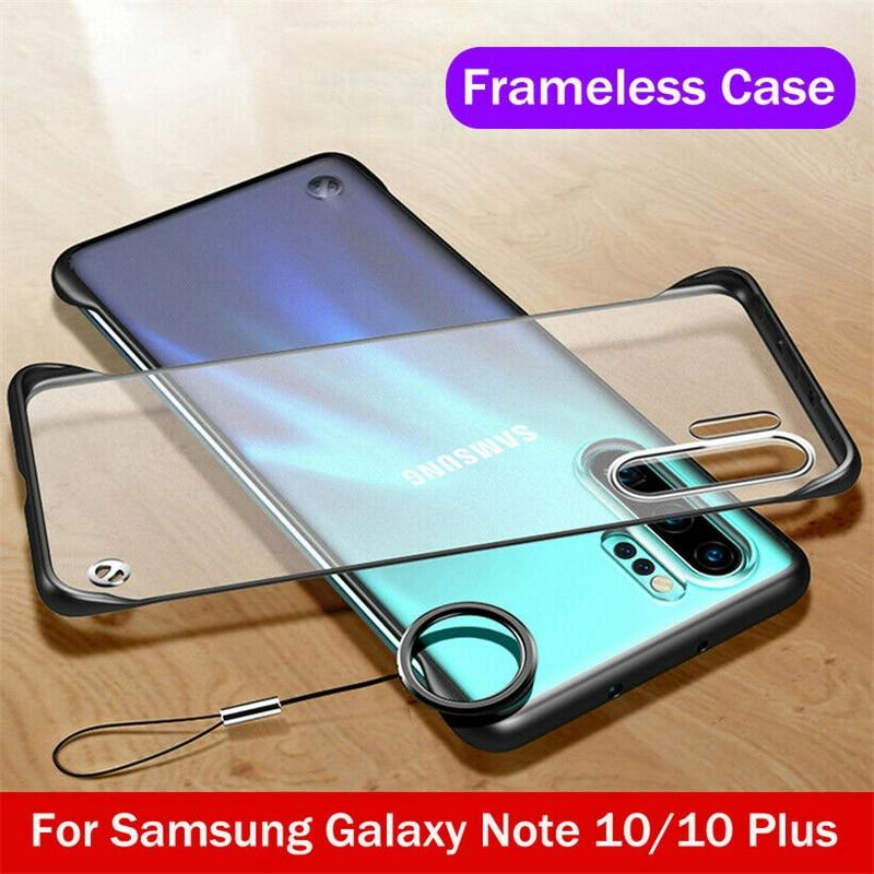 Ultra Thin Frameless Bumper Case For Samsung