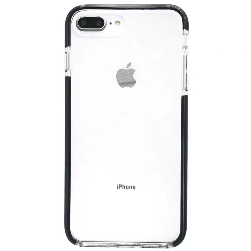 Thin Shockproof Transparent Silicone Case For iPhone