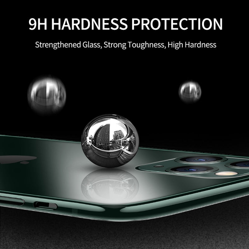 Luxury Glass Case For iPhone 11