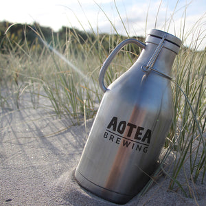 1.89L Stainless Steel Double Walled Flagon - Filled AVAILABLE ON GREAT BARRIER ONLY