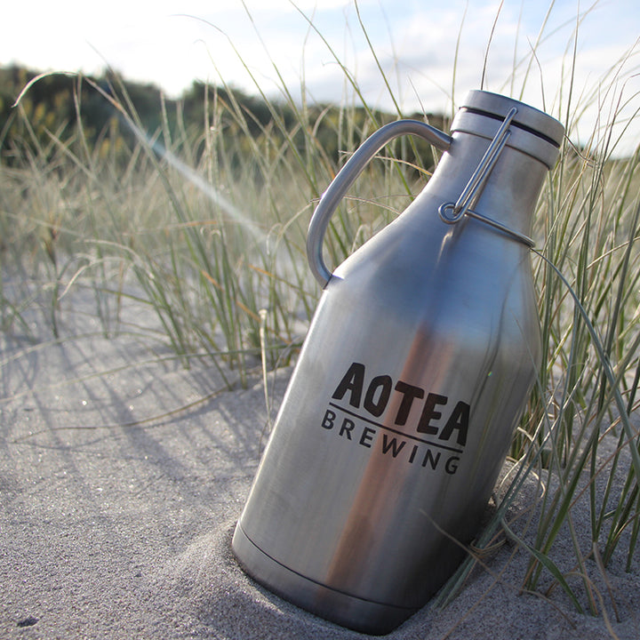 1.89L Stainless Steel Double Walled Flagon