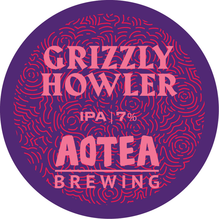 Grizzly Howler India Pale Ale 7.0%