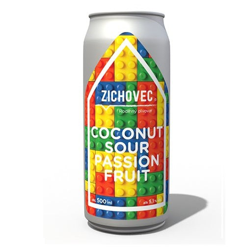 Coconaut Sour Passion Fruit 12° (plech.)