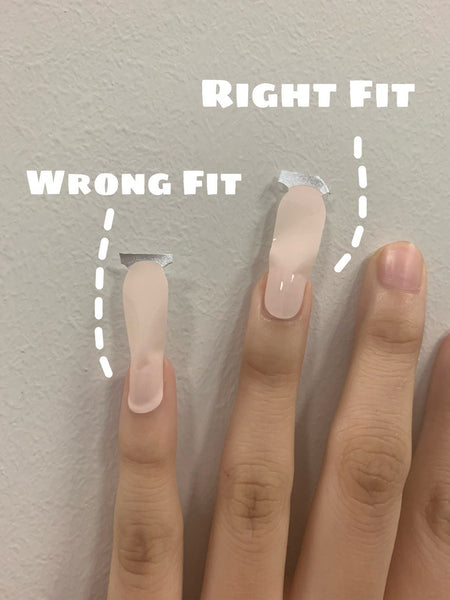 If your nail stickers dropped after a few days, you've been wearing it wrong