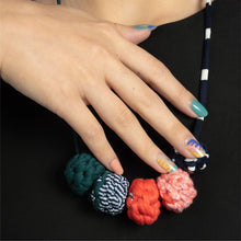 Load image into Gallery viewer, Colour Jungle + Muta wear Bundle - A set of nail stickers and necklace