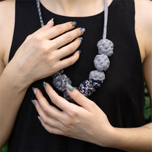 Load image into Gallery viewer, Dancing In The Eve + Muta wear Bundle - A set of nail stickers and necklace
