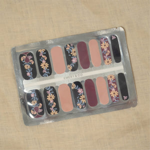 In full bloom nail art stickers