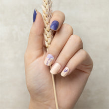 Load image into Gallery viewer, nail-stickers-singapore-lavender-fields