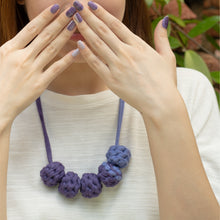 Load image into Gallery viewer, Purple Prose + Muta wear Bundle - A set of nail stickers and necklace