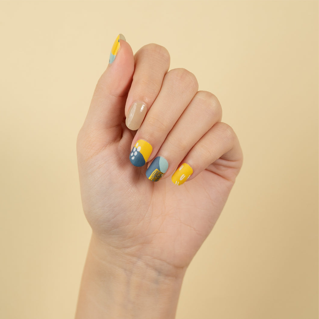 nail-stickers-singapore-summer-citrus