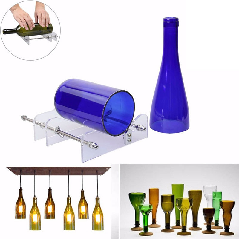 Glass Bottle Cutter - Creative Handicrafts - Huge Corn