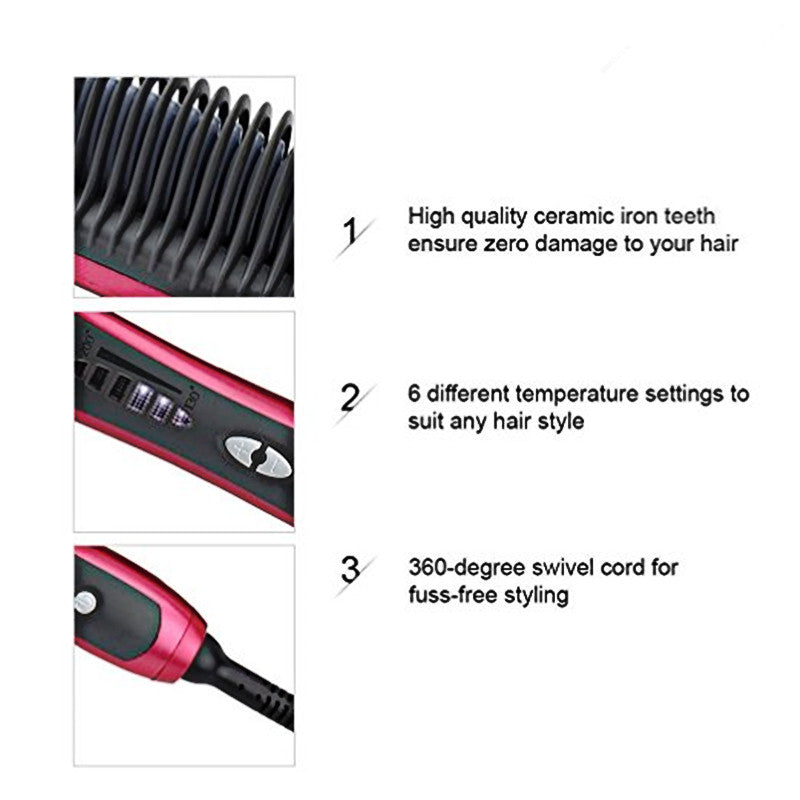 Multifunctional  Hair Straightener