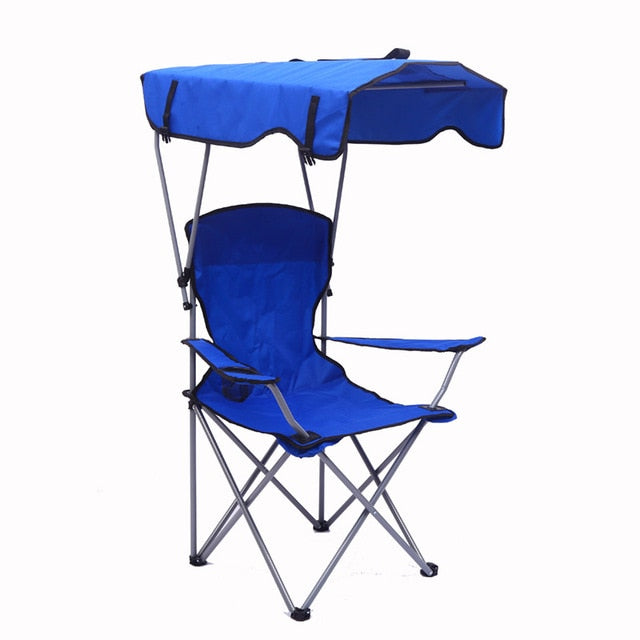 Portable Camping Folding Lawn Chairs with Canopy