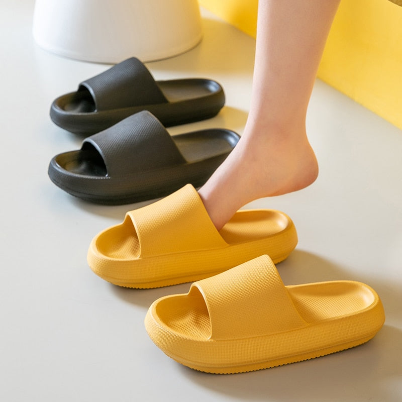Soft home slippers