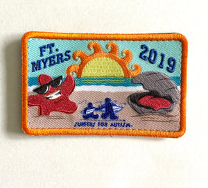 2019 Ft Myers Event Patch