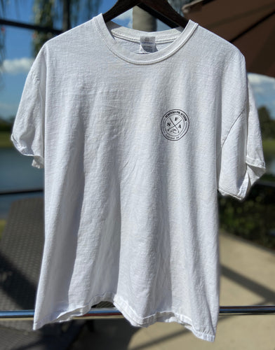LOGO Tee in White