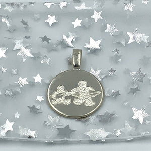 Surfers For Autism Silver Charm