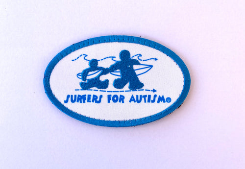 Surfers For Autism Logo Patch