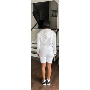 """Shane"" Shorts Set - White"