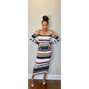 """Sugar & Spice"" Midi Dress"