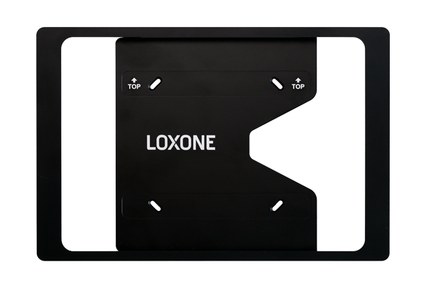 Loxone iPad Wallmount Anthrazit