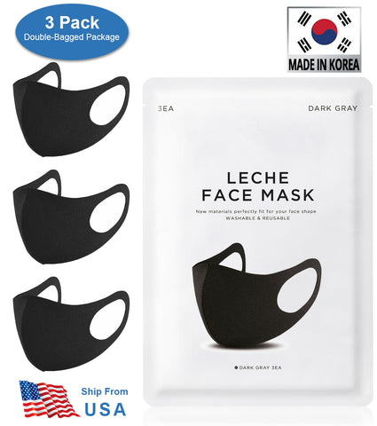 12 PCS LECHE FASHION DUST 100% Polyurethane Sponge Reusable Stretchable Mask without Hurting Ears