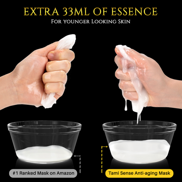 33mL Essence of Anti-Aging Sheet Mask 5PCS
