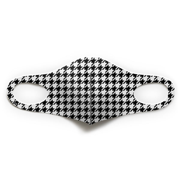 Houndstooth Check Mask