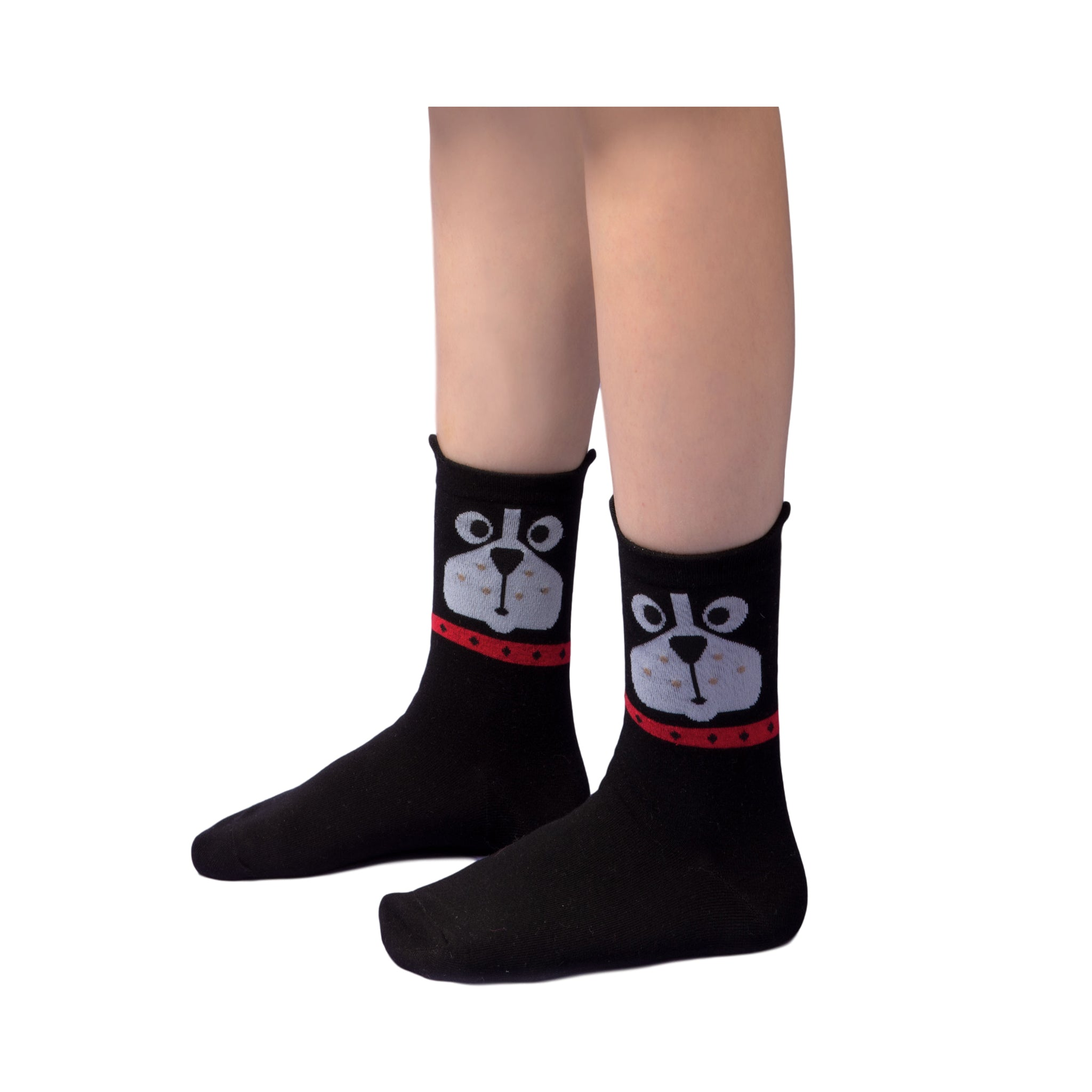 Dog Puppy Socks for Women Girls Teen (5 Pair Set)