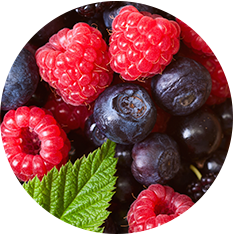 Berry Blend, frozen - Black/Blue/Rasp 5 x 1kg bag