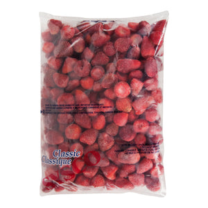 Strawberries, individual quick frozen, Canadian 6 x 2kg bags