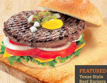 Load image into Gallery viewer, Beef Burgers - Frozen individual (patties only)  32pcs - 5oz each