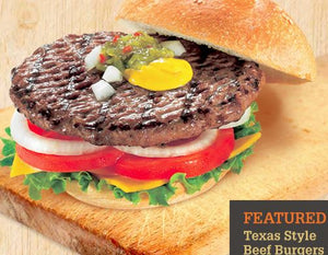 Beef Burgers - Frozen individual (patties only)  32pcs - 5oz each