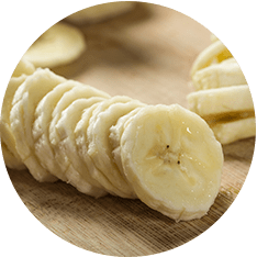 Banana Slices - Frozen 5kg (2 bags, 2.5kg ea)